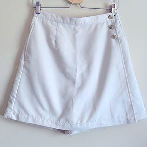 Karen Scott Khaki Skort Size 6 Petite
